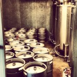 Kegs at Factotum Brewhouse