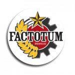 Factotum Sticker