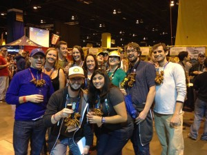 A GABF crew from a previous year.